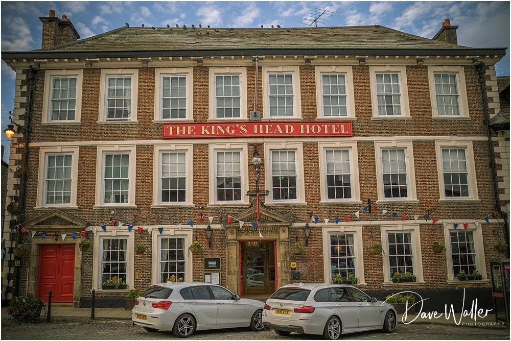 Kings Head Hotel, Richmond, Wedding