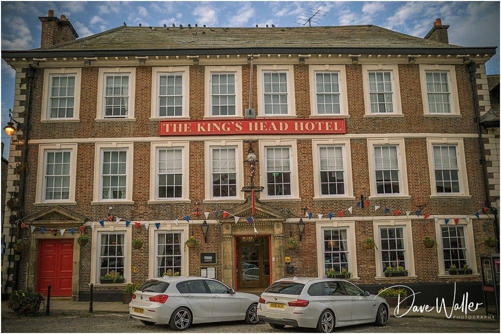 Kings Head Hotel, Richmond, Wedding