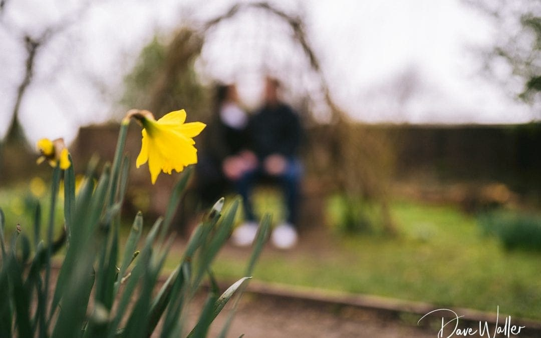Spring Oakwell Hall Couple Shoot