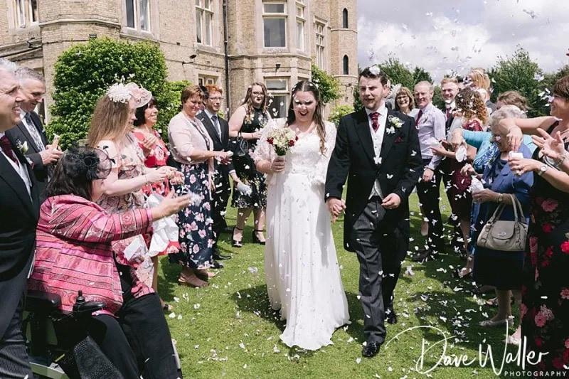 Cave castle wedding photography