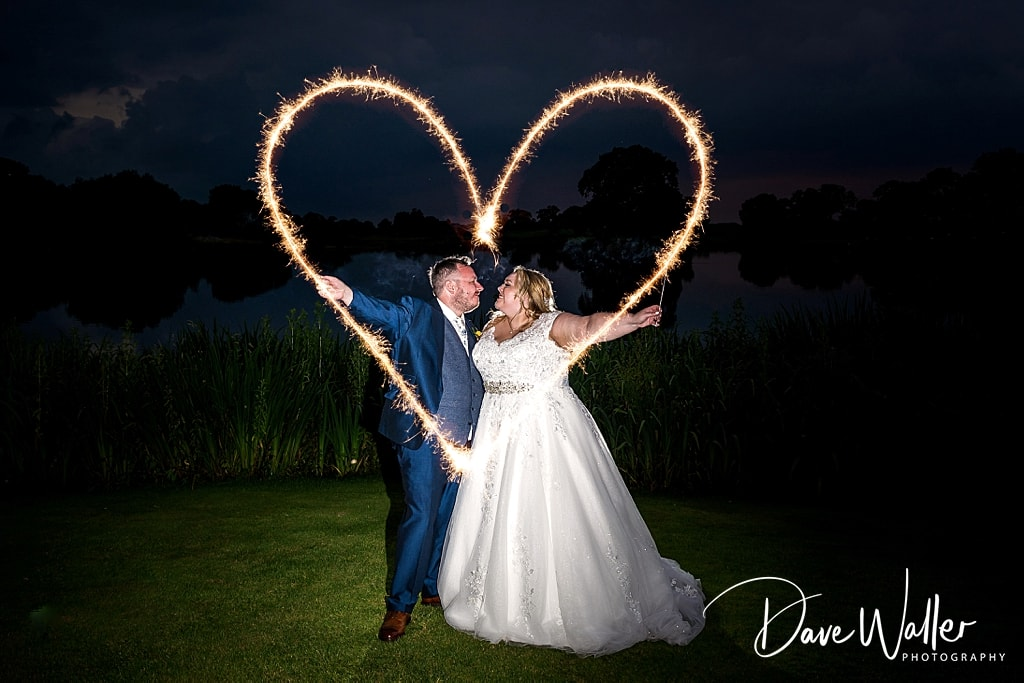Bride and groom on their wedding day at 37-Sandhole-Oak-Barn